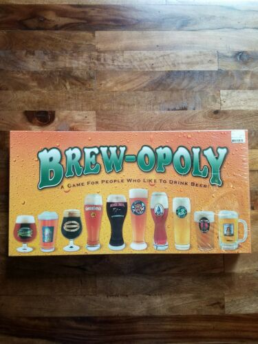 Late For The Sky: Brew-opoly Sealed Board Game New Adult Bee