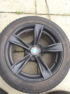 BMW Mags and Winter Tires - 17inch