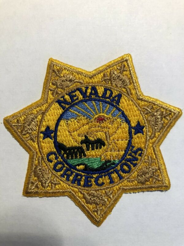 Nevada State Corrections Patch~New Condition
