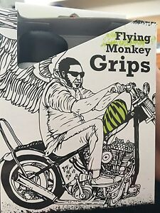 """lowbrow customs flying monkey 1"""" grips"""