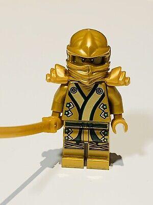 GENUINE LEGO Golden Ninja Lloyd Ninja Minifigure for Ninjago preowned
