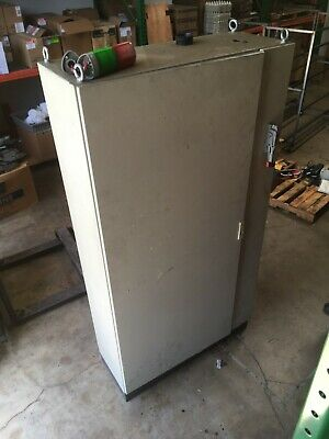 Machine Control Cabinet 39 Wide 74.25 Tall 16 Deep