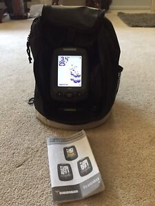 Hummingbird piranhamax portable fish finder sonar