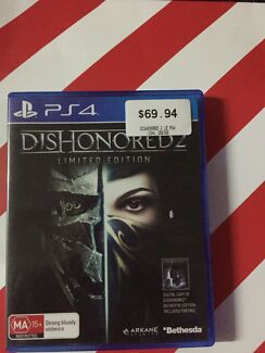 Dishonored 2 limited edition, ps4, PlayStation 4, BRAND NEW