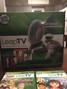 Leap TV video console with 6 games