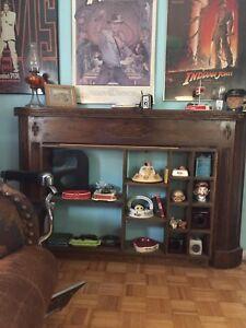 Vintage Fireplace Mantle