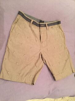 men's dress shorts billabong chino smart shorts new