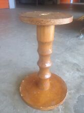 RUSTIC TIMBER PEDESTAL PLANT Or URN STAND Burwood Burwood Area Preview