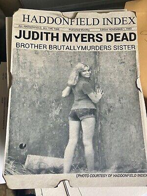 Halloween 1978 Michael Myers Judith Myers Print.