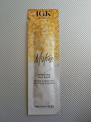 IGK Mistress Hydrating Hair Balm 5ml - Sample Sachet