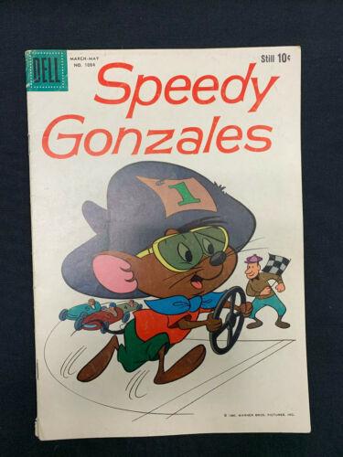 Four Color #1084 Speedy Gonzales Looney Tunes Dell Cartoon Comics 1960
