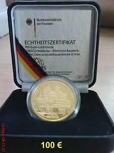 100 Euro-Goldmünze-Trier-A-