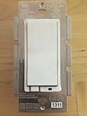 Ge Relay Switch Zw4001 White Color