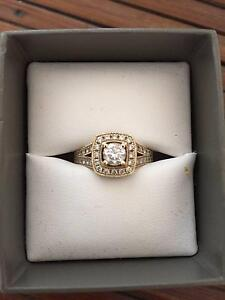 1.06CT Yellow Gold Michael Hill Engagement Ring Coorparoo Brisbane South East Preview