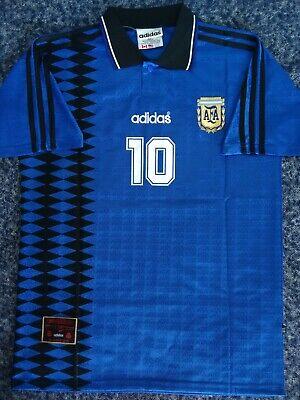Maradona Argentina World cup 1994 shirt Remake Jersey size XL camiseta retro
