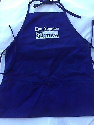 Los Angeles Times Vendor Apron From Bob Hope Chrysler Classic Golf Tourney