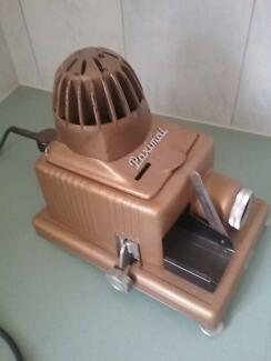 Old  retro slide projector