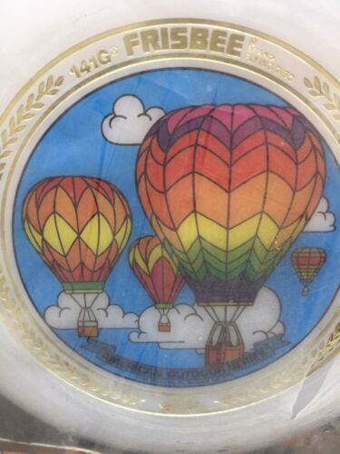 1981 Wham-O Frisbee American Outdoor Series Hot Air Baloons