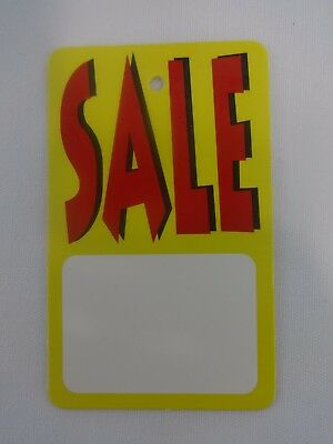 500 Red Yellow White Sale Unstrung Merchandise Sale Price Tags