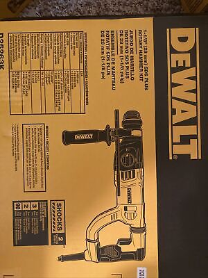 Dewalt D-handle Sds Hammer Kit - D25263k. Brand New In Box
