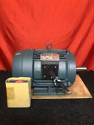 Reliance Electric 10 Hp Electric Motor 3510 Rpm 3 Phase 215t Frame