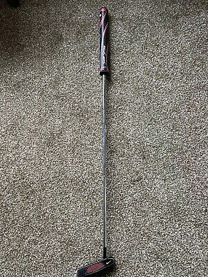 NIKE METHOD PUTTER Black 35inch With New Super Stroke Grip