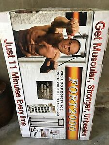 Brand New Fort 2000 Door Gym Forestville Warringah Area Preview