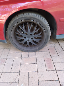18inch vy commodore rims and tyres North St Marys Penrith Area Preview