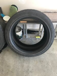 Two 245 45 18 Goodyear tires