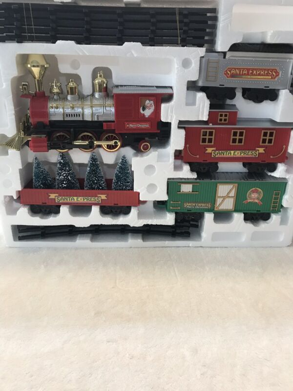 Holiday Living Santa Express Train Used Nice Condition # 0585415