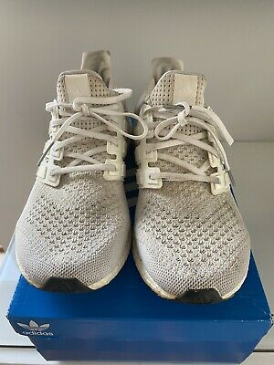 Adidas Mens Ultra Boost Trainers Triple White UK8 EU42