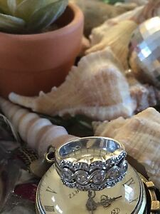 Right Hand Ring  - Lacey Diamond styling Reduced!!