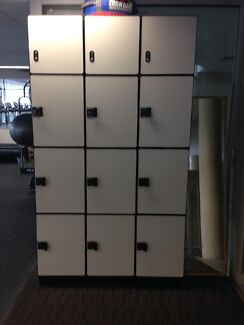 Gym Lockers - Timber Wooden Caringbah Sutherland Area Preview