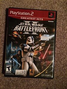 Star Wars Battle Front 2 PS2 Game