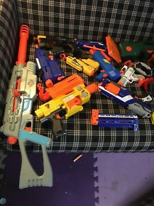 Bunch of nerf guns for sale (URGENT)