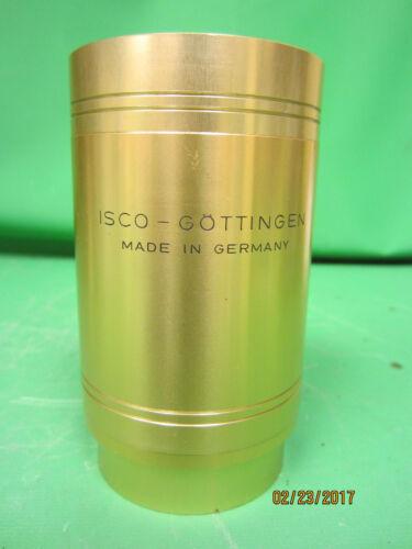 "Vintage ISCO Gottigen Cinelux 35/70 Cinema 5.50"" FL Cine Projector Lens"