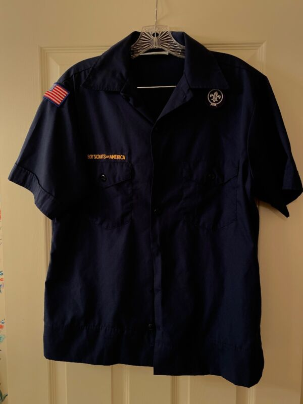 Cub Scout BSA UNIFORM SHIRT Youth Extra Large Short Sleeve #4