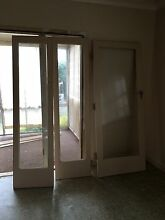 Silky Oak Timber and Glass Door With Two Side Panels Toowoomba 4350 Toowoomba City Preview