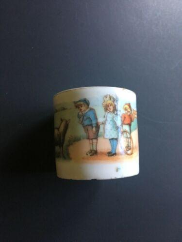 VINTAGE CHILD'S CERAMIC CUP