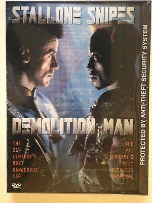 Demolition Man  Dvd  1997  New  Sylvester Stallone  Sandra Bullock