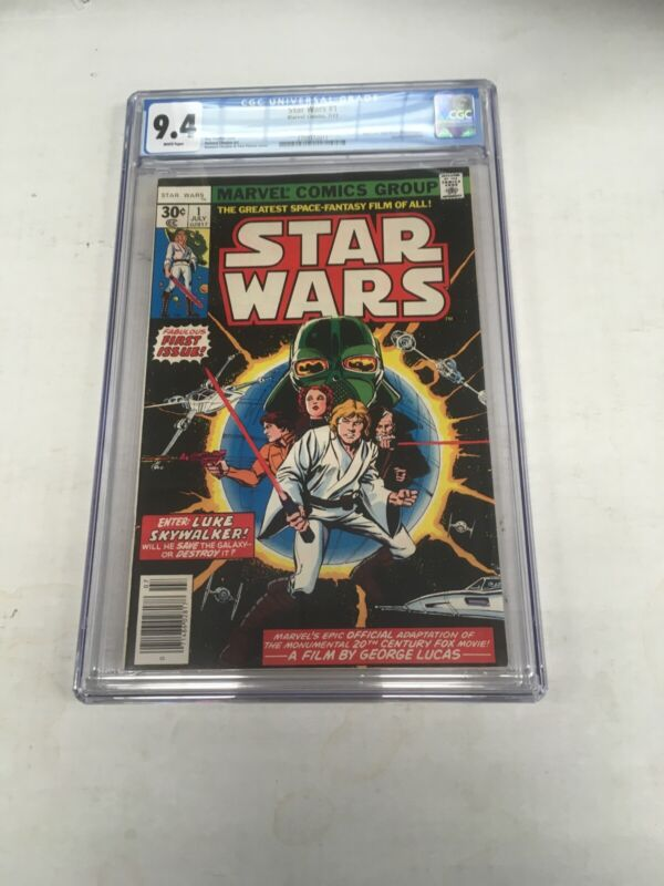 Marvel Comics Star WArs 1 CGC Graded 9.4