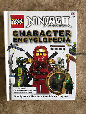 Lego Ninjago Character Encyclopedia by DK Books (2012, Hardcover) Like new