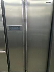 Samsung stainless steel upright fridge freezer South Lismore Lismore Area Preview