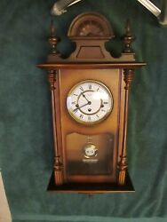 Linden Wall Clock - Westminster Chimes - Germany