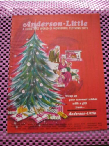 Anderson-Little Christmas Catalog Insert Rare
