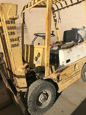 Forklift Toyota Propane 5000 Lb Pneumatic Front Tires