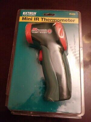 Mini Ir Thermometer Extech Instruments Flir Ir400 Green Digital Case Incl.