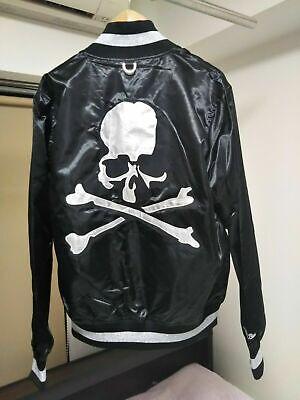 Mastermind Japan Mitchell & Ness Skull Bone Nylon Jacket Mens M From Japan