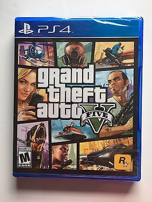 Grand Theft Auto V ( PS4) **BRAND NEW & FREE SHIPPING**