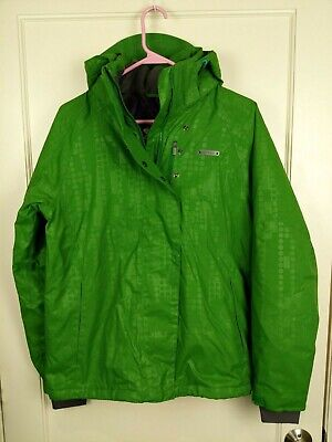Under Armour Green Ski Snowboard Waterproof Jacket Winter Coat Women's Size: M